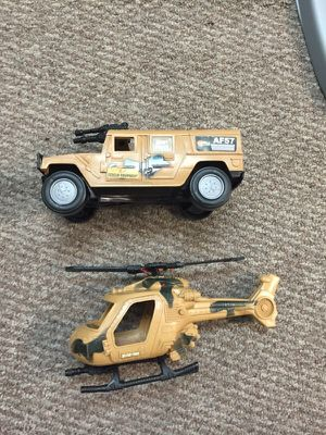 You truck and army helicopter for Sale in Miami, FL