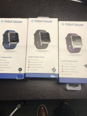 Brand new Fitbit blaze. Retail price $99.00 My price $55 EACH! Also have other types available for Sale in Murray, UT