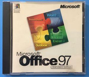 Microsoft Office 97 Standard Edition for Sale in Stockton, CA