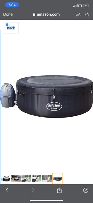 Summer waves 4 person hot tub black brand new sealed for Sale in Livingston, CA