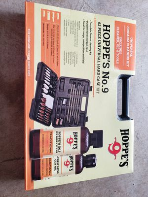 Brand new, Hoppe's No. 9 -62 piece universal cleaning kit for Sale in Houston, TX