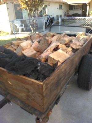 Hard and heavy fire wood, seasoned & deliverd for Sale in Fair Oaks, CA