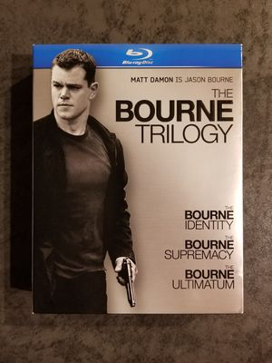 The Bourne Trilogy Blu-ray Movies for Sale in Peoria, AZ