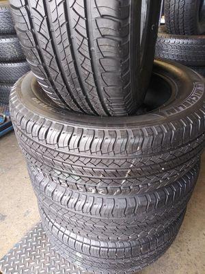 Set de 4llantas-265/60/18-Michelin.95%.life for Sale in La Mirada, CA