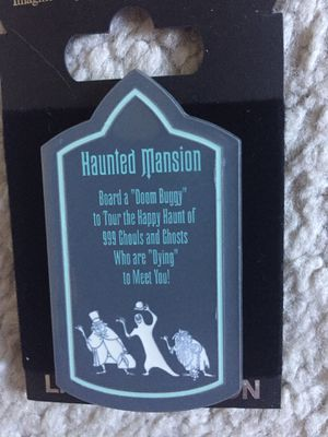 Disney WDI Haunted Mansion Hitchhiking Ghosts Pin for Sale in Portola Hills, CA