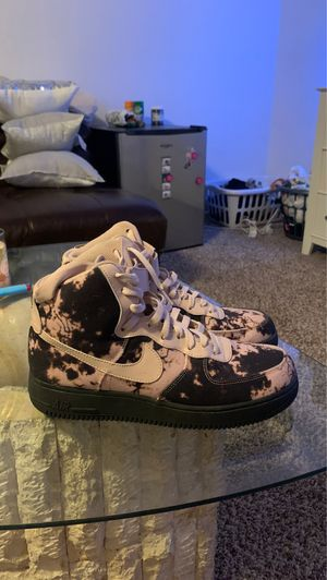 Air Force 1 high top acid wash. Worn twice for Sale in Las Vegas, NV