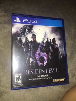 resident evil 6 for Sale in Chicago, IL