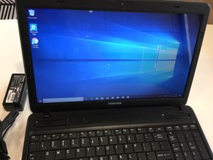 Toshiba Satellite Windows 10 Laptop w/ AMD Radeon HD 6310 Graphics for Sale in San Antonio, TX