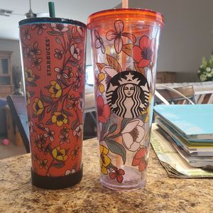 Starbucks Poppy Tumblers for Sale in Surprise, AZ