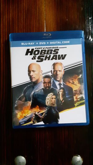Hobbs and shaw DVD only for Sale in Lincoln, NE