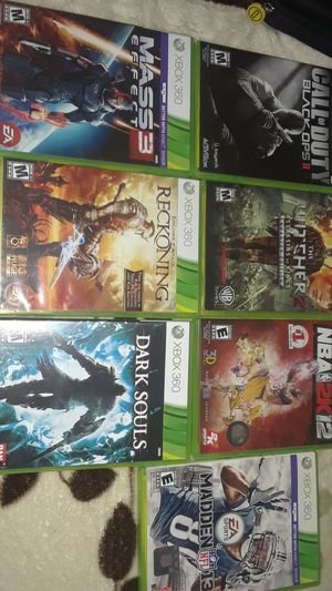 6 xbox 360 games for Sale in Houston, TX