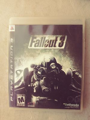 Fallout 3/ ps3 for Sale in Live Oak, CA