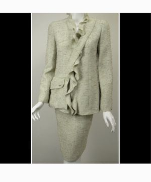 Gorgeous Authentic Chanel Suit Jacket Skirt for Sale in Rockville, MD