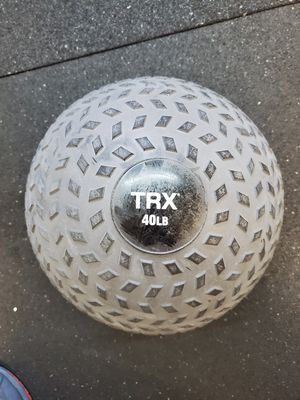 TRX Training Slam Ball, Easy- Grip Tread & Durable Rubber Shell for Sale in Seattle, WA