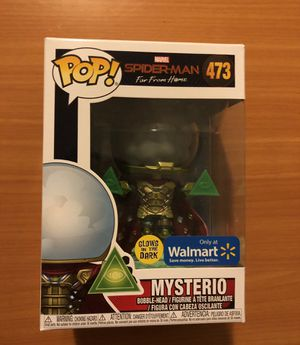 Mysterio Funko Pop Walmart Exclusive GITD for Sale in Hollywood, FL