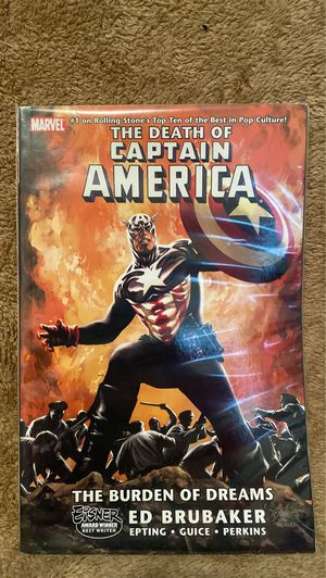 The Death of Captain America Graphic Novel for Sale in New York, NY