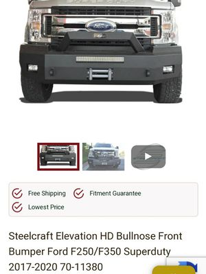 2017-20 ford f-250-350 bumper for Sale in Houston, TX