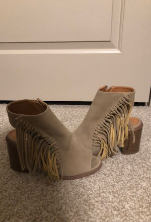 Fringe Booties for Sale in Houston, TX