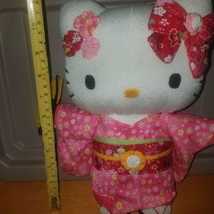 Sanrio Hello Kitty Japanese traditional kimono figure toy doll made in Japan for Sale in El Paso, TX