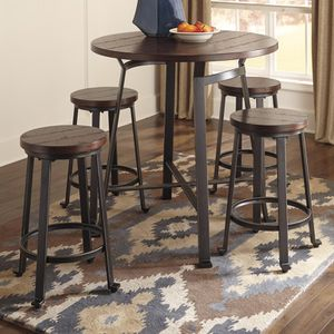 Ashley Round Table and 4 Chairs for Sale in Portland, OR