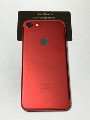 Unlocked iPhone 7 256GB Product Red for Sale in San Jose, CA