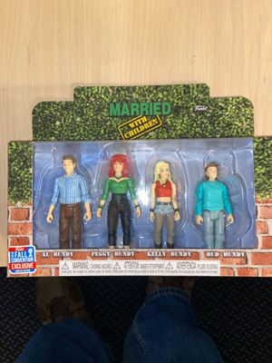 Married With Children Action Figures by Funko (Ltd Edtn) for Sale in Tucson, AZ