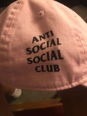 Pink anti social social club hat for Sale in Lorton, VA