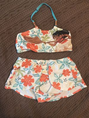 Disney Store Moana swimsuit size 7/8 for Sale in Osseo, MN