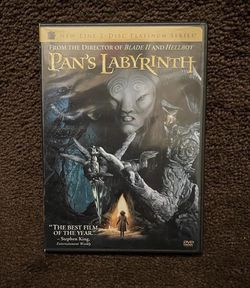 Pan's Labyrinth - New Line 2 Disc Platinum Series DVD 2007 for Sale in Chapel Hill,  NC