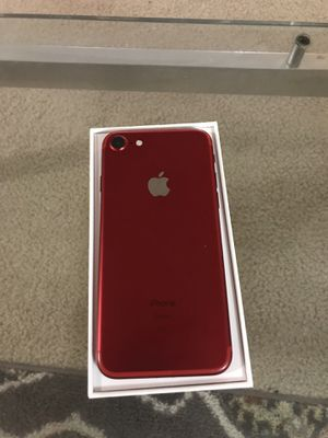 red iphone 7 unlocked 32GB for Sale in Falls Church, VA