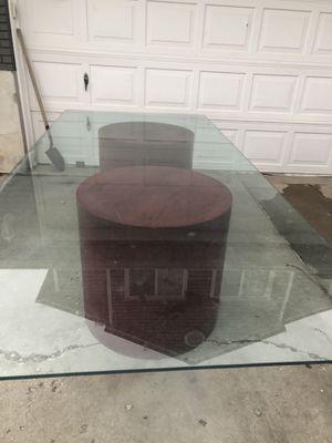 Glass table for Sale in Salt Lake City, UT