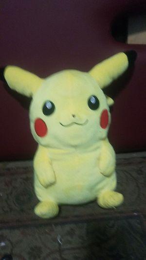 Pikachu Plushie With Zipper for Sale in Shoreline, WA