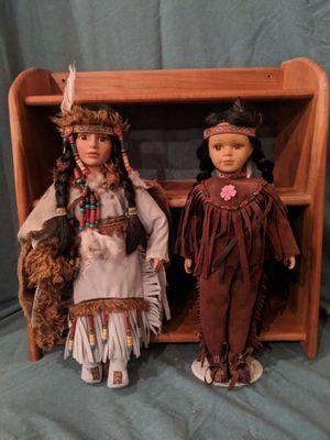 Native American Indian Porcelain Dolls for Sale in Kalkaska, MI