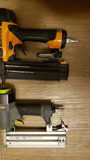 Finish nail guns ( bostitch, craftsman) for Sale in ROXBURY CROSSING, MA