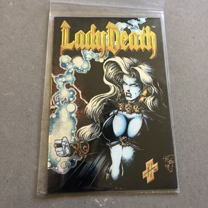 Chaos comics lady death chrome March 1995 for Sale in Seattle, WA