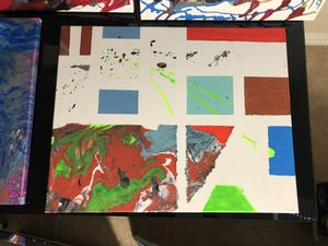 Acrylic Canvas Painting for Sale in Dallas, TX