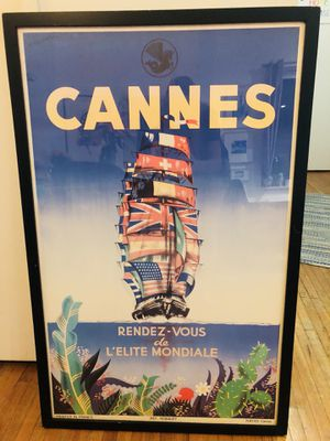 Framed Cannes photo for Sale in New York, NY