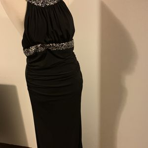 Black Stretch Junior Size XL Prom Dress for Sale in Oak Lawn, IL