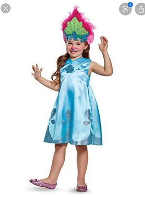 Troll girls halloween costume new for Sale in Moreno Valley, CA