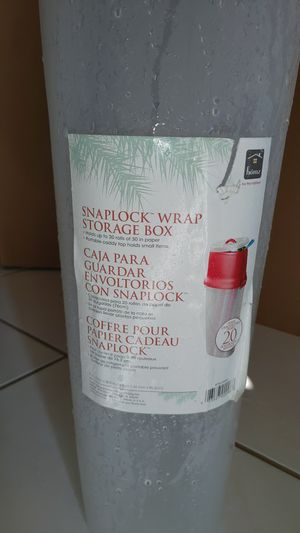 Wrapping paper storage container for Sale in Royal Palm Beach, FL