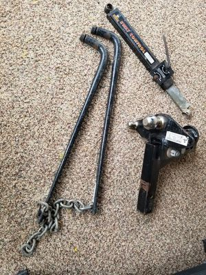 Husky weight distribution hitch for Sale in Washington, PA