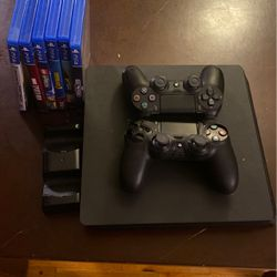PS4 1TB + Games for Sale in University Place,  WA