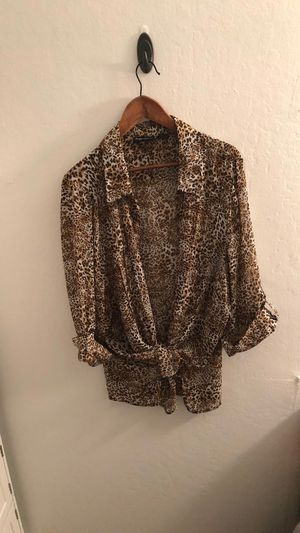 Pre-Owned Vintage Maggie Barnes Women's Blouse Size 2X for Sale in Alameda, CA