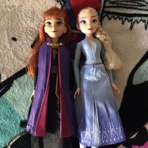 Elsa & Anna Dolls for Sale in Phoenix, AZ