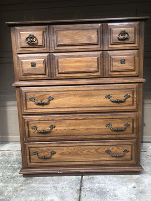 Five Drawer Solid Dresser / Chest for Sale in Oregon City, OR