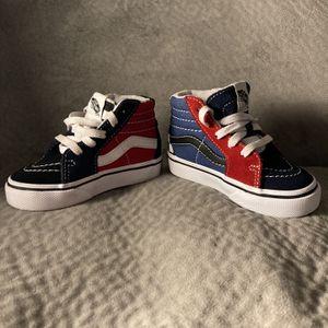 Toddler Shoes Size 4 Vans SK8- Hi for Sale in Fort Lauderdale, FL