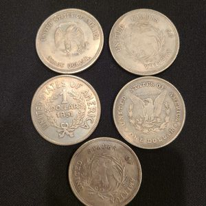 Old 1 Dollar Coins 1797 - 1921 for Sale in Troutdale, OR