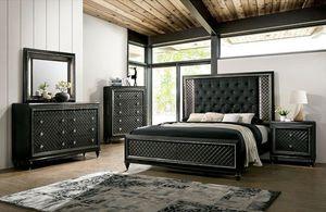 4-Pc Metallic Grey Queen Bedroom Set for Sale in Fresno, CA