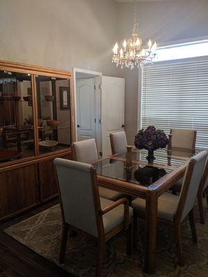 Dining table, chairs & china cabinet for Sale in Mesa, AZ
