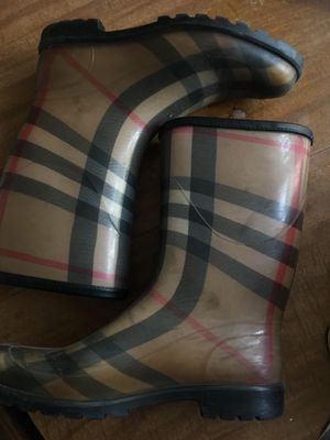 Burberry Rain Boots for Sale in Buffalo, NY